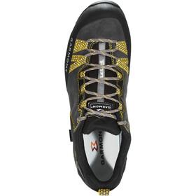 Garmont Mystic Low II GTX Shoes Men Dark Grey/Yellow